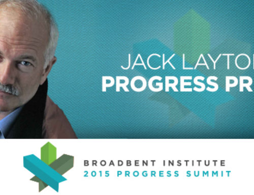 The Jack Layton Progress Prize