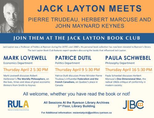 Jack Layton Meets
